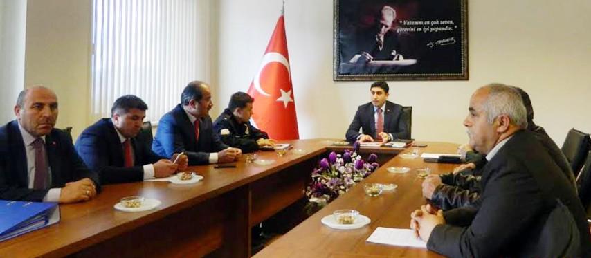 İlçe Seçim Güvenliği toplantısı yapıldı