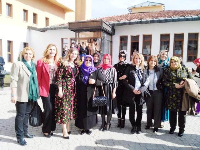 Kadınlar Türk Ocağı  programında bir araya geldi
