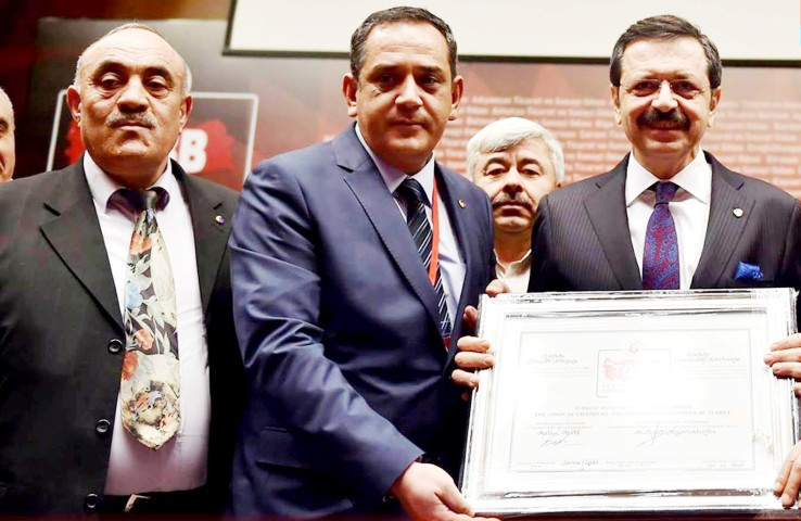 Yerköy Ticaret Borsası'na 5 yıldız