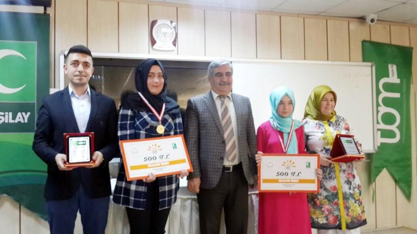 Sağlıklı nesil sağlıklı gelecek  yarışması ödülleri verildi