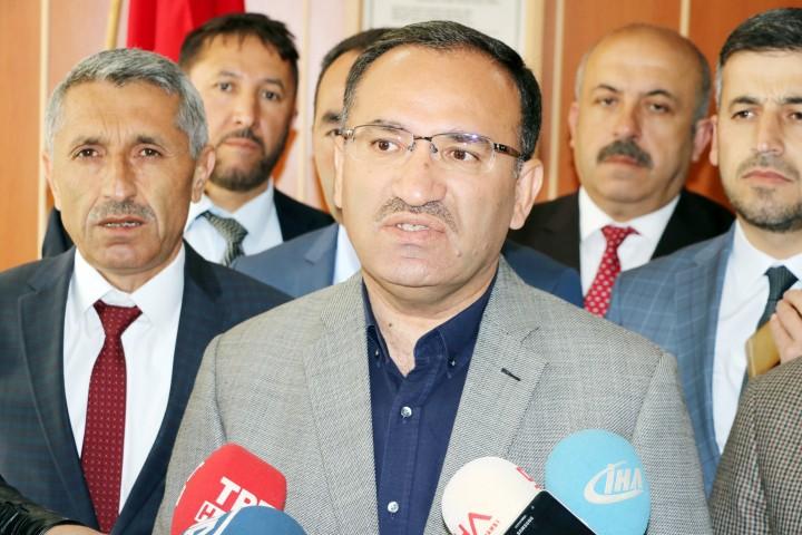 Bozdağ: CHP'li Özkan'ın polise hakareti  büyük bir ahlaksızlık, saygısızlıktır