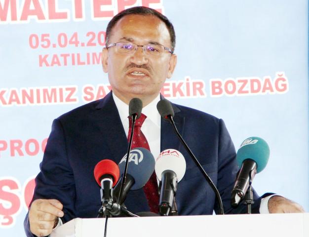 Bozdağ'dan Türkiye Barolar Birliğine tepki