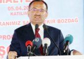 Bakan Bozdağ'dan  AKPM'nin kararına tepki