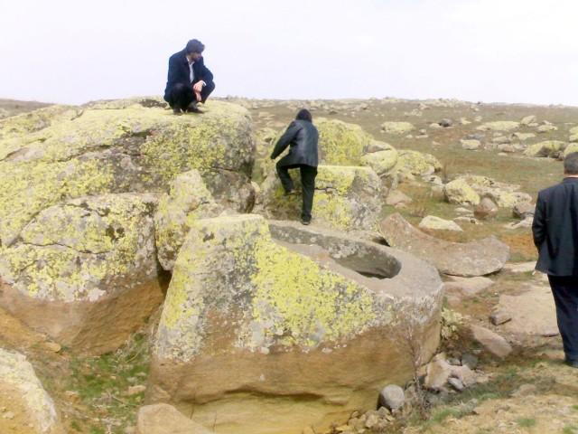 Bin 200 yıllık Hititlerin heykel  atölyesi yeniden inşa edilecek