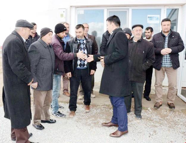Toprakpınar Köyünde Halk Günü toplantısı yapıldı