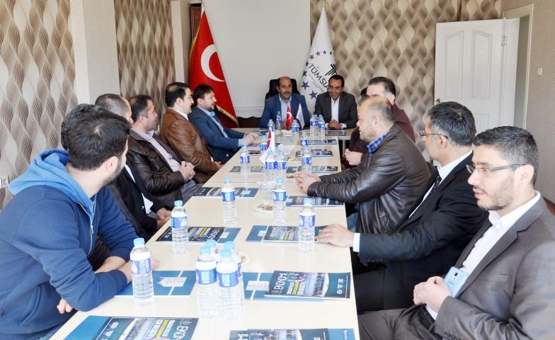 AK Parti'den TÜMSİAD'a ziyaret