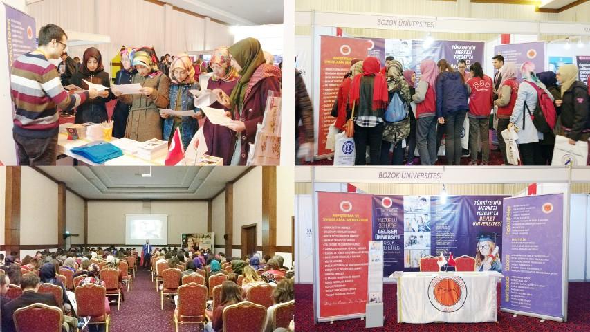 Bozok Üniversitesi, Afyon  ve Sivas fuarlarına katıldı