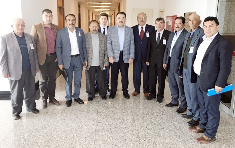 Birlik Başkanları Soysal'dan destek istedi