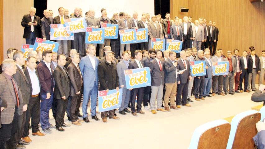 STK'lardan referanduma 'evet'