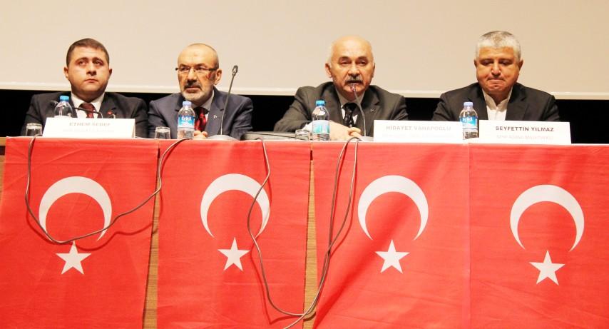 Anayasa değişikliği bilgilendirme toplantısı yapıldı