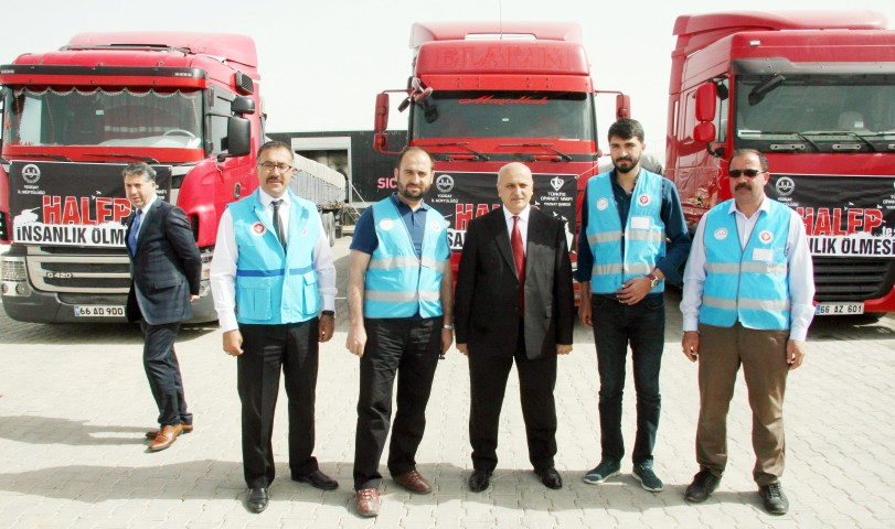 Suriye'ye 275 ton un gönderildi