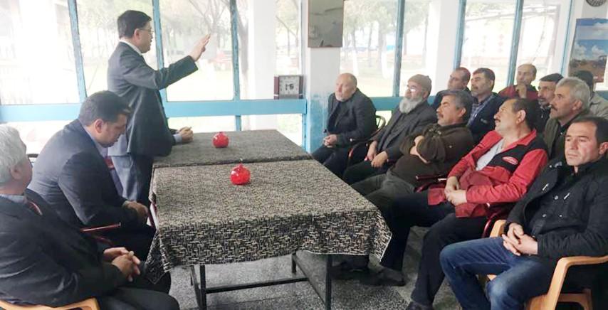AK Partili Başer: 13 İl ziyaretinin  ardından yeniden Yozgat'ta start verdi