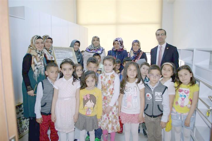Öğrencilerden böcek  müzesine ziyaret