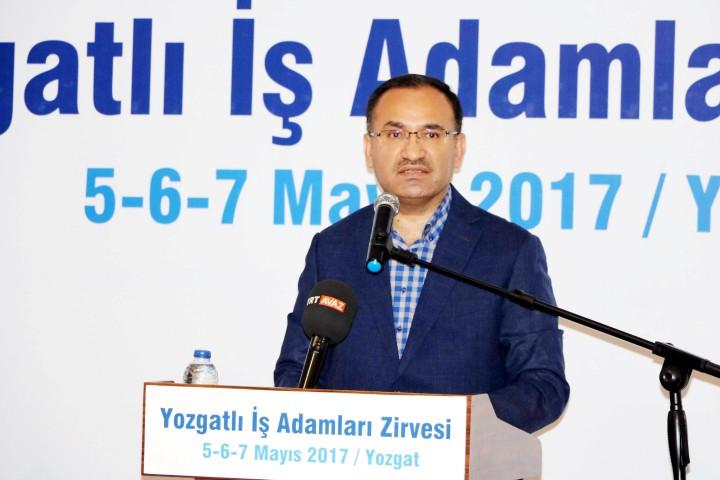 """Adalet Bakanı Bozdağ """"Türkiye'nin  ekonomisi 15 yılda 3.5 kat büyüdü"""