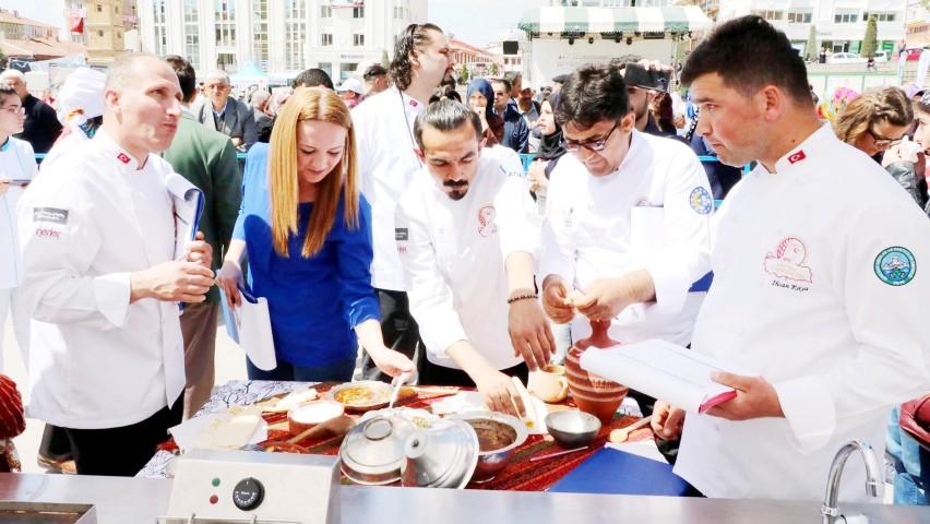 1. Ulusal Yemek  Festivali başladı