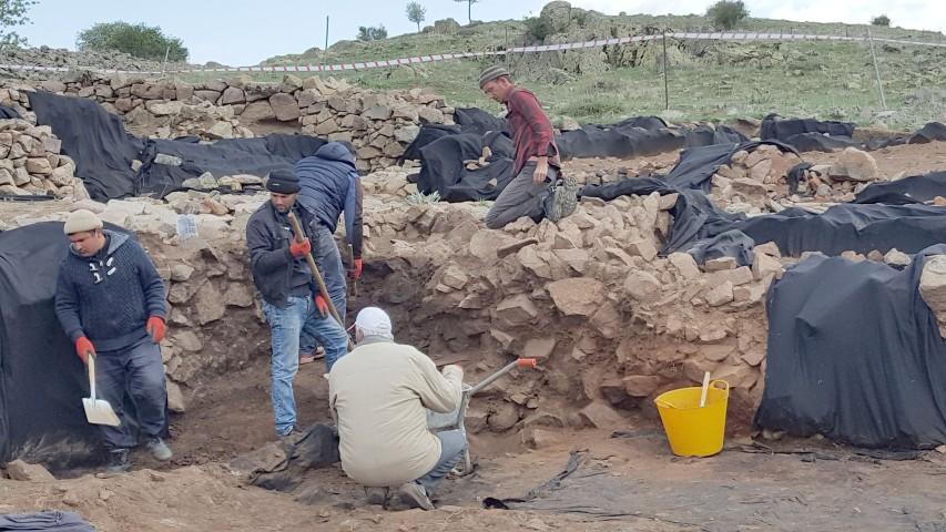 Kerkenes Dağı kazı  çalışmaları başladı