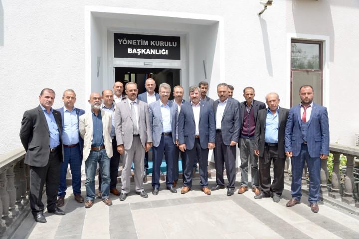 MHP İlçe teşkilatından destek ziyareti