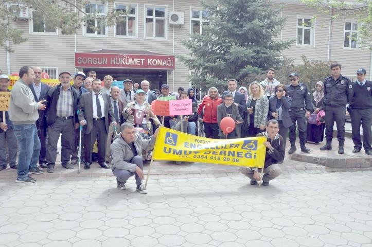 Altınpınar, Engelli vatandaşların  hayatlarını kolaylaştırmalıyız