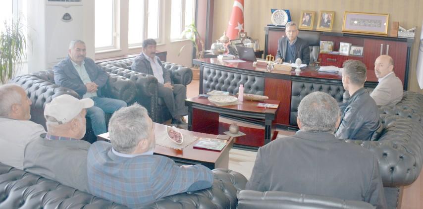 Ticaret Borsasından Başkan Arslan'a ziyaret