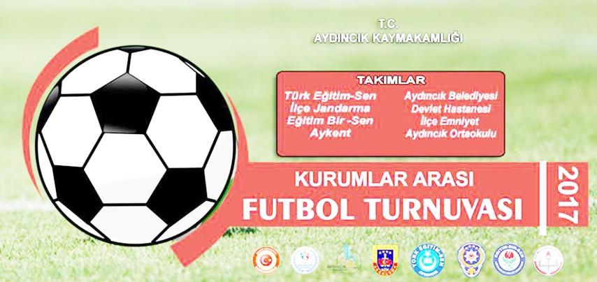 Aydıncık'ta kurumlar arası  futbol turnuvası başladı