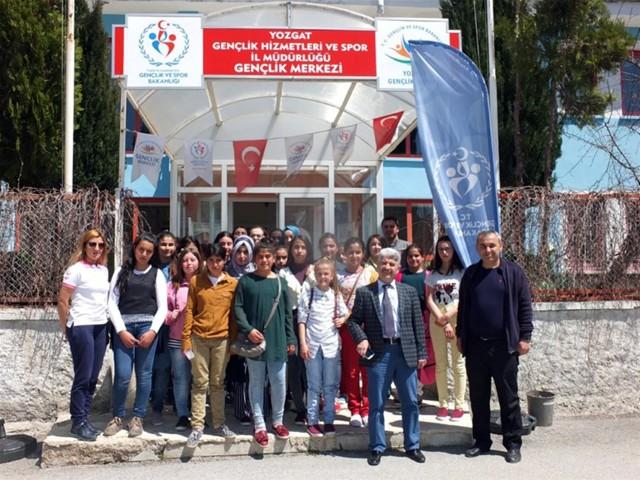 """Yozgat Gençlik Spordan """"Merkezim her yerde"""" projesi"""