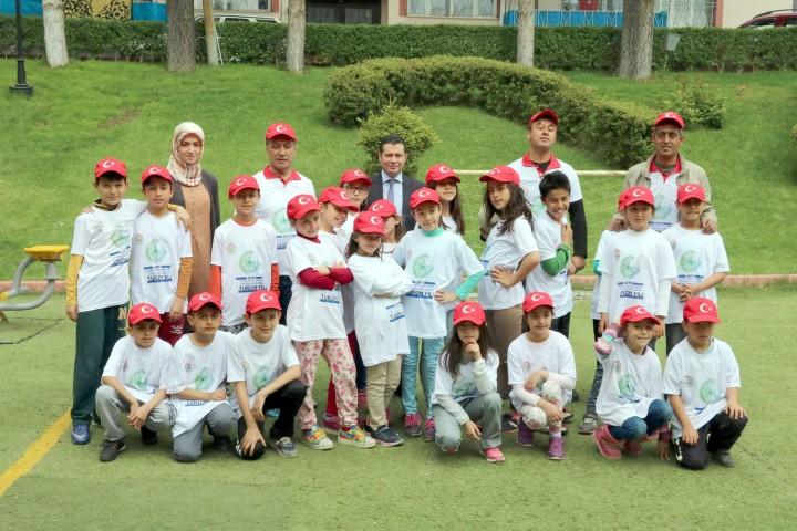 'Lider Çocuk Tarım Kampı' tamamlandı