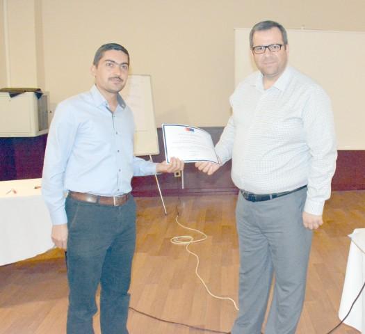 Planlama ve Proje Yönetimi  Eğitimi Katılım Belgeleri Verildi