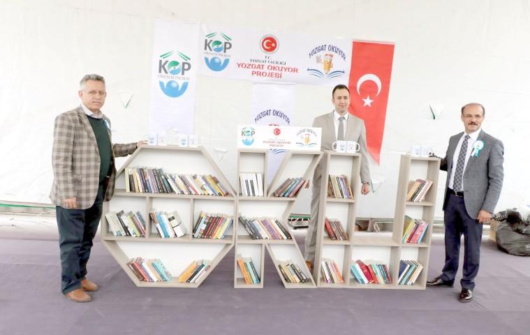 Yozgat Okuyor Projesi tanıtıldı