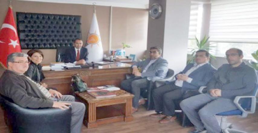 Yozgat MMO siyasi partileri gezdi