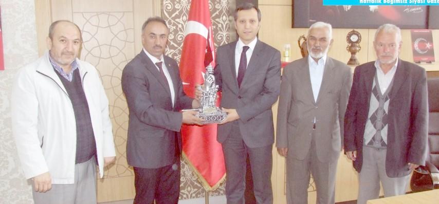Yerköy ÖNDER'den Şengök'e ziyaret
