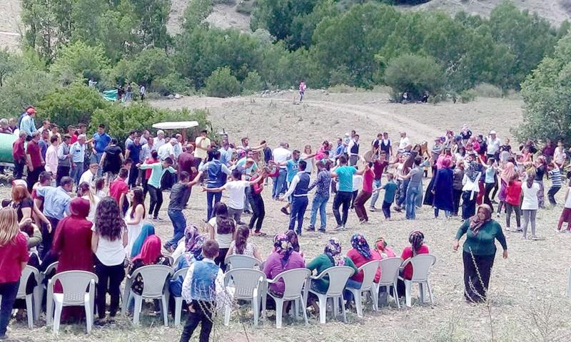 Aydoğan Köyü sakinleri  şenlikte buluştu