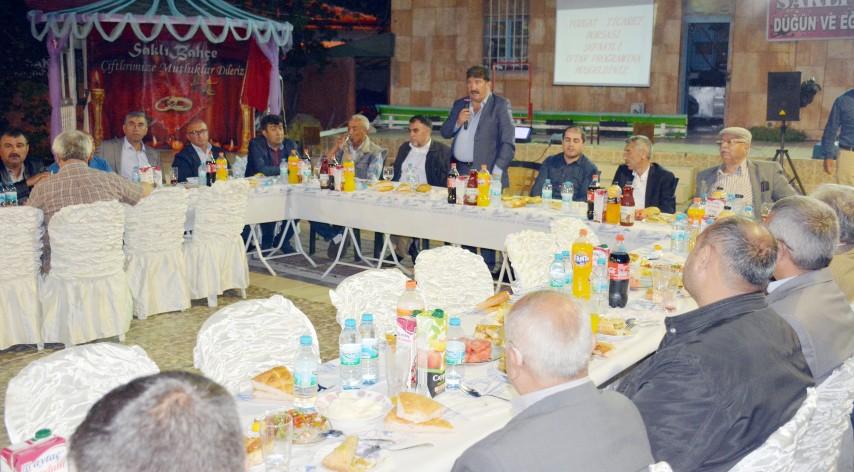 Yozgat Ticaret Borsası iftarında  üyeler ve ilçe yöneticileri buluştu