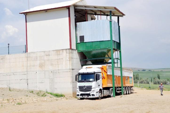 Sorgun'da 60 ton çöp geri  dönüşüme gönderilecek