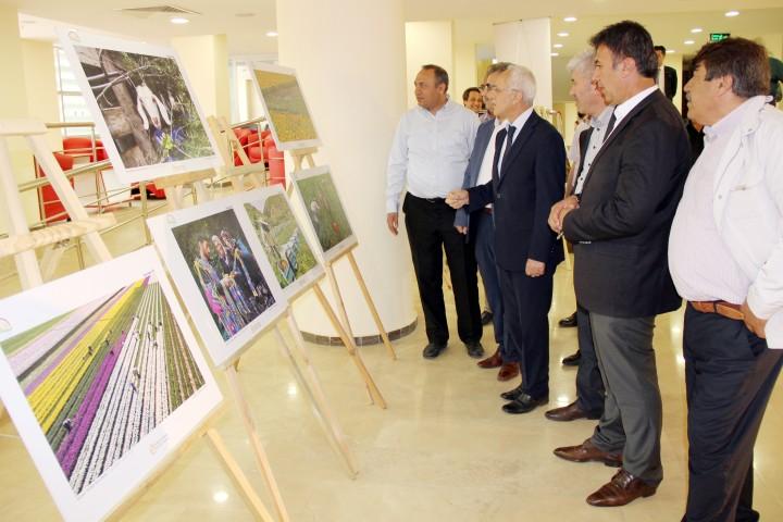Tarım ve İnsan konulu Fotoğraf Sergisi açıldı