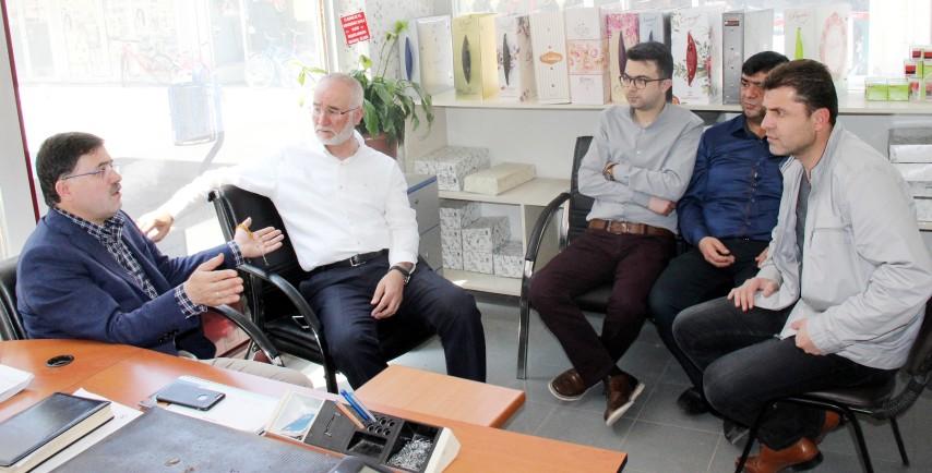 Milletvekili Başer'den gazetemize ziyaret