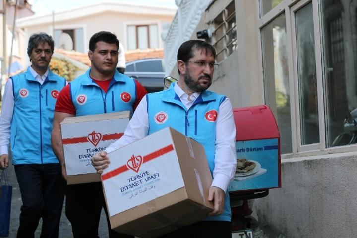 Kayaalp'ten ramazan yardımı