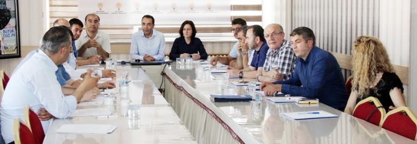 AK Parti Yozgat İl Teşkilatında  kongre süreci başladı