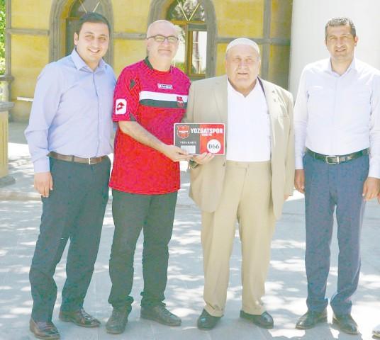 Yozgatspor'a destek büyüyor