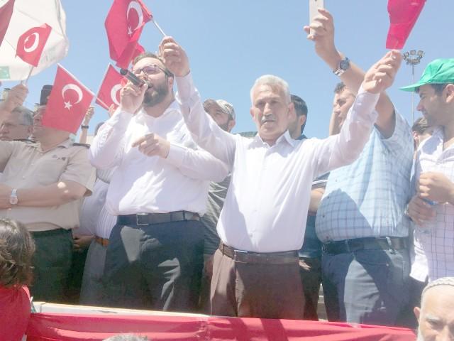 Başkan Zararsız: 15 Temmuz Türkiye'nin demokrasi bayramıdır
