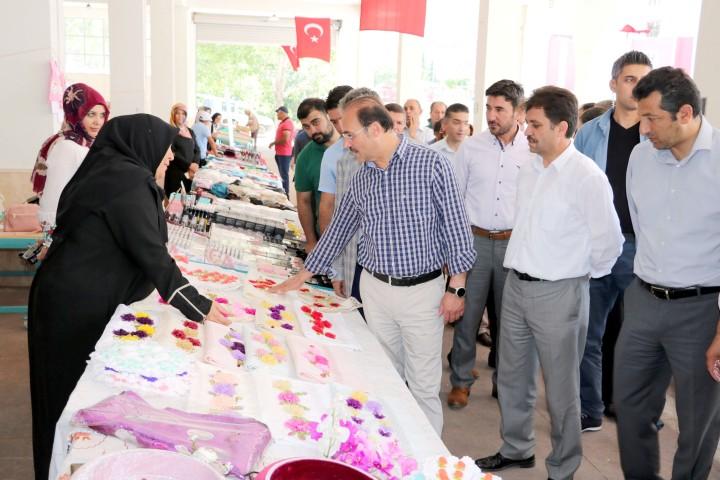 Yozgat'ta Kadın El Emeği Pazarı açıldı