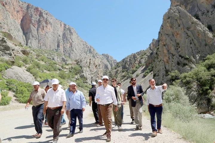 Kazankaya Kanyonu  ziyaretçilerini bekliyor