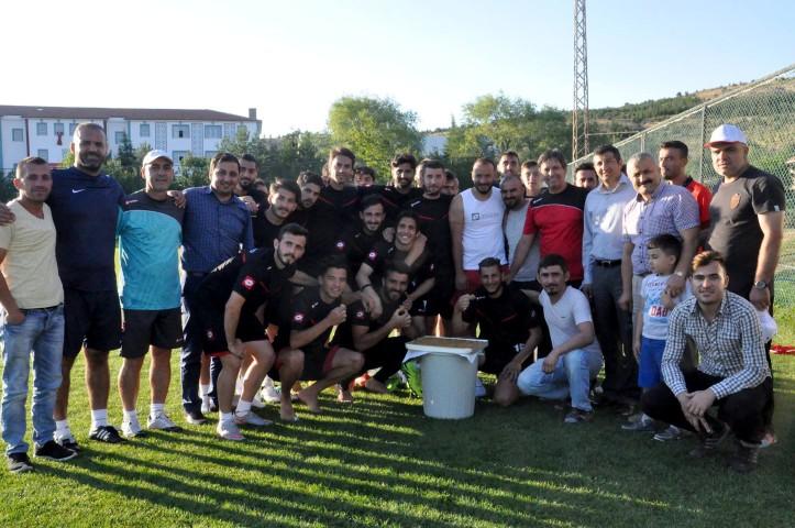 Taraftardan Yozgatspor'a moral ziyareti