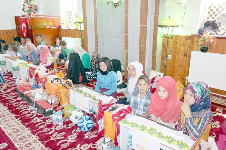 Dini bilgiler yarışması düzenlendi