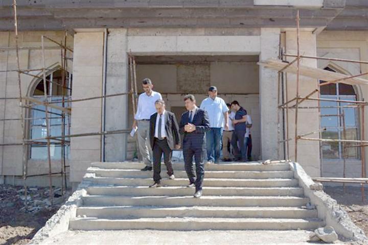 Diyanet İşleri Daire Başkanı Duyar yapımı devam eden yatırımları inceledi