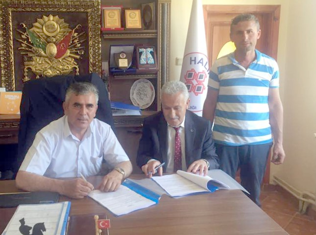 Halıköy Belediyesinde  toplu iş sözleşmesi sevinci