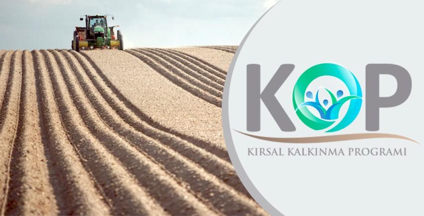 KOP'tan kırsal kalkınmaya mali destek