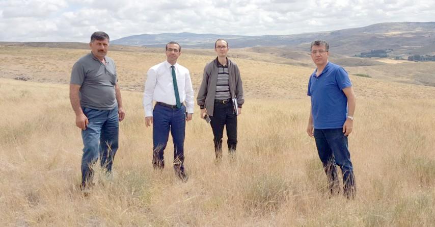 Yozgat meraları incelendi