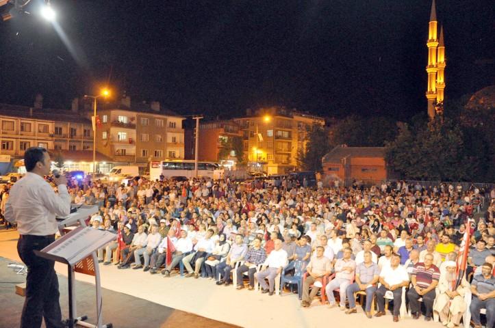 Yerköy 15 Temmuz Demokrasi ve  Milli Birlik Günü'nde tek yürek oldu