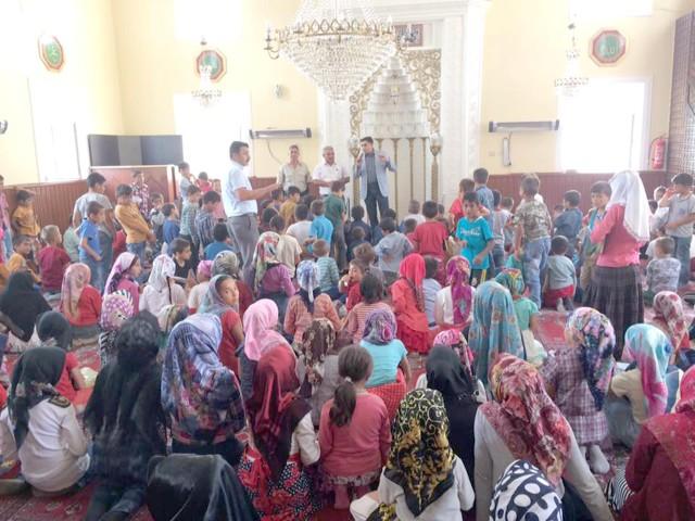 Kaymakam Akyol'dan Kur'an Kurslarına ziyaret