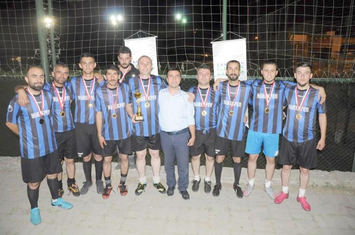 ÇEDAŞ, çalışanları futbol turnuvasında stres attı